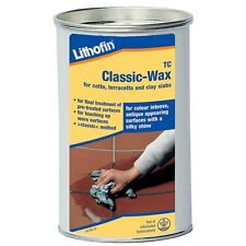 Lithofin WAX1 TC Classic Wax Antique 1Ltr for cotto, terracotta and clay tiles