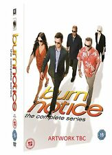 BURN NOTICE 1-7 COMPLETE DVD BOX SEASON 1 2 3 4 5 6 7  SPRACHE ENGLISCH