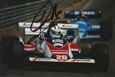 JOHNNY CECOTTO HAND SIGNED TOLEMAN F1 6X4 PHOTO.