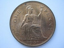 1951 George VI Penny, A UNC.