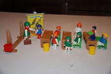 Playmobil 3522 a) escuela school vintage