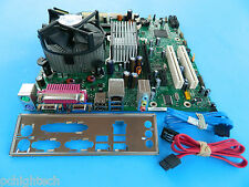 Intel D66165-502 LGA775 Dual Core 2.0GHZ  Motherboard With SATA I/O HeatSink Fan