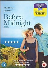 Before Midnight DVD Ethan Hawke Julie Delpy New Sealed Original UK Release R2