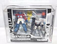 Transformers 2002 AFA 85 SCF 2 Pack Convoy vs Megatron Battle Damage MISB