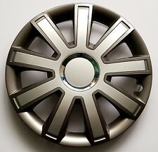 "SET OF 4 15"" WHEEL TRIMS,RIMS TO FIT TOYOTA IQ, AVENSIS, YARIS + GIFT #9"