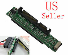 "44pin 2.5"" IDE HDD Drive Female to 7+15pin Male SATA Adapter USA"