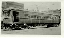 6K418 RP 1940s? INDIANA RAILROAD CAR #404