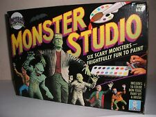 UNIVERSAL MONSTERS MONSTER STUDIO PAINTING SET NEW IN HIGH GRADE BOX RARE