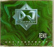 DJ Company - Hey Everybody (Out Of Control) (Remix) - CDM - 1994 - Eurodance