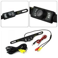 Universal CMOS Waterproof 7 LED Car Rear View Reverse Backup Parking Camera NEW