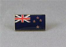 New Zealand / Kiwi Flag Enamel & Metal Lapel / Pin Badge - 24mm BRAND NEW