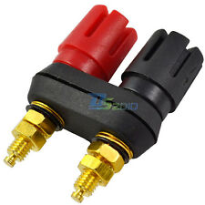 Amplifier Terminal Binding Post Banana Plug Jack Connector Adaptor New