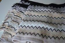 NEW AUTHENTIC MISSONI  Tasselled WOOL MIX  PONCHO / Throw