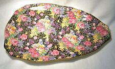 ART DECO  ROYAL WINTON  TENNIS SAUCER / PLATE  CHINTZ HAZEL