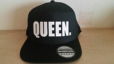 KING QUEEN Snapback Fashion PRINTED Snapback Cap Hip-Hop Hat Caps Hats - 1 hat