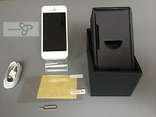 Apple iPhone 5 - 32 GB-Blanco y Plateado (desbloqueado) grado B-usado