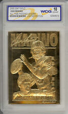 2000 DAN MARINO Miami Dolphins 23K GOLD CARD - GEM-MINT 10 *Lot of 5*