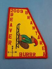 BOY SCOUTS SCOUTS CANADA BRANT AREA BEAVER 2009 BURRR  PATCH COLLECTOR BADGE