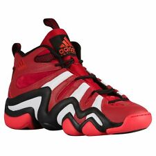 Adidas Crazy 8 Men's Basketball Shoes G20784 Red / White / Black - Size 12