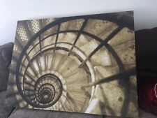 JOHN LEWIS SPIRAL STAIRCASE BY CHRISTINE PEACOCK THE ARC DE TRIOMPHE FRAMELESS