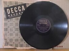 """Decca 10"""" 78/Hamilton Quartet/Stand Up, Stand Up For Jesus/Let The Lower..."""