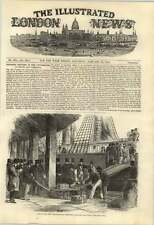 1853 Great Delivery Of Australian Gold East India Docks