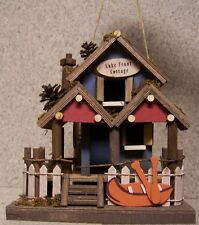 Bird House Lake Front Cottage NEW wood and luan plywood