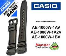 REPLACEMENT CASIO WATCH BAND ORIGINAL ONLY FITS: AE-1000W,AE1000,AE1000W