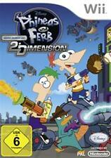 Nintendo Wii +Wii U Phineas und Ferb Quer durch die 2te Dimension Top Zustand