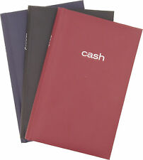 """Mead 7.88"""" x 5"""" CASH Book, Assorted (64582)"""