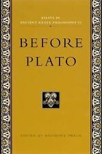 Essays in Ancient Greek Philosophy: Before Plato, , , Acceptable, 2001-06-01,