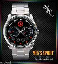 NEW VW Volkswagen Touareg Speedometer Stainless Steel Analogue Men's Watch