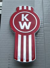 NEW KENWORTH BUG LOGO METAL HOOD EMBLEM FOR SIDE OR GRAB HANDLE