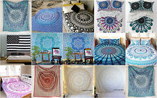15 Mandala Tapestry Wall Hanging Throw bedding Cotton Bedspread Wholesale Lot