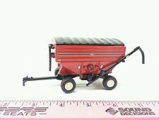 1/64 ERTL CUSTOM FARM TOY RED j&m 680 bu GRAVITY AUGER COVERD SEED GRAIN WAGON