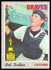 1970 TOPPS OPC O PEE CHEE BASEBALL 232 BOB DIDIER NM BRAVES ALL STAR ROOKIE CARD