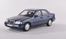 BoS Mercedes Benz C220 (W202) Metallic Blue 1:18 LE 1000 **Very Nice Car**