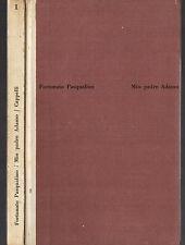 """F. Pasqualino: """"MIO PADRE ADAMO"""" - Cappelli 1963 - Rilegato"""