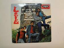 """LOVE: (w/Arthur Lee) My Little Red Book +3-France 7"""" 1966 Disques Vogue EP PCV"""