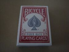 Bicycle Titanium Red Deck V2 Playing Cards New With Free Shipping