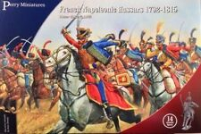 FRENCH NAPOLEONIC HUSSARS - PERRY MINIATURES - 28MM - NAPOLEONICS