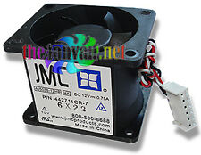 JMC 405038-12HB 6 Pin Dual Blade Case Fan for U1/U2 Rackmount Servers NEW