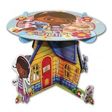 Doc McStuffins Party Cake Stand with Character Cut Outs