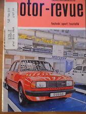 Tschechoslowakische MOTOR REVUE Nr. 12- 1984 Skoda Motokov Speedway Velorex JAWA