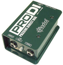 Radial Pro DI Direct Box - PRODI - R800 1100