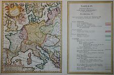 Tabulae IV. Imperii Francici ... - Homann Erben 1750 - Europa z.Z. Friedrich III