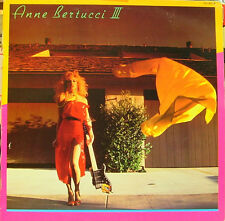 ANNE BERTUCCI-III LP VINILO 1984 SPAIN EXCELLENT COVER CONDITION-EXCELLENT VINYL
