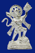 White Metal statue/carving idol/Figurines of lord  Hanuman Bajrang Bali