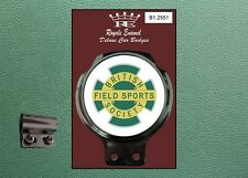 Royale Classic Car Badge & Bar Clip Remade BRITISH FIELD SPORTS SOCIETY B1.2551