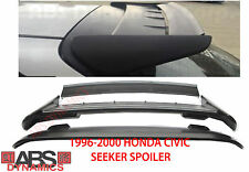 NEW 1996 2000 Honda Civic HatchBack Seeker Style Roof Spoiler UNPAINTED